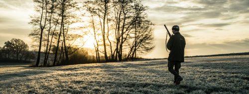 Jagdausflug Sonnenaufgang